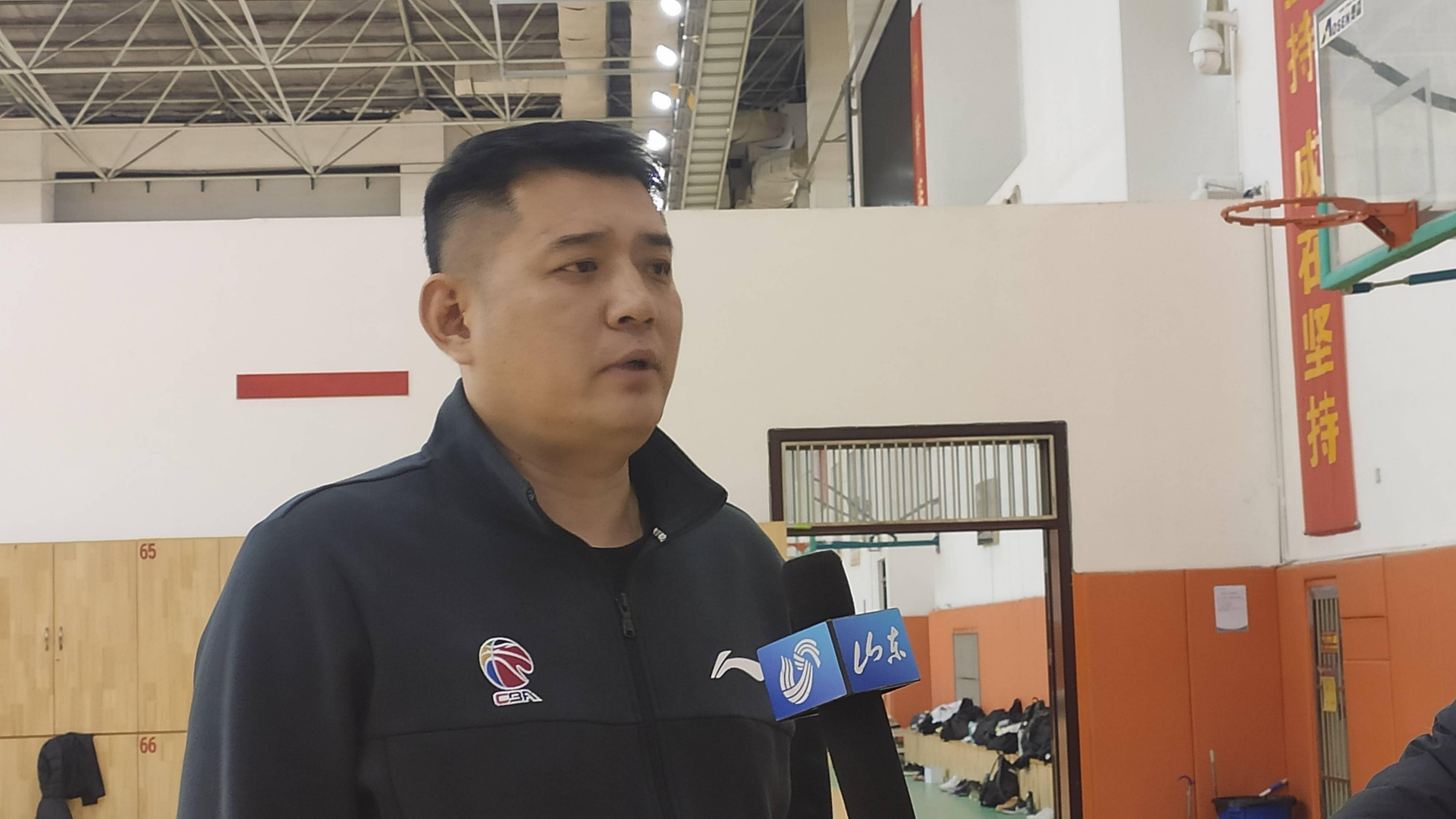 山东男篮春节前还有四场比赛 巩晓彬透露节前备战计划