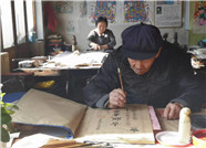 93岁年画爷爷杨洛书:择一事终一生 将木版年画继续传承