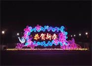 组图丨新春将至 威海荣成花灯璀璨绽放精彩纷呈