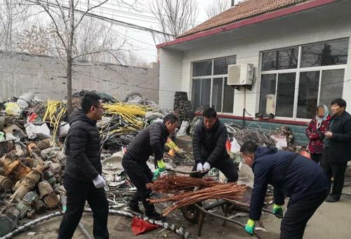 滨州沾化警方侦破盗窃电缆案 6名嫌疑人被抓 涉案价值10万余元
