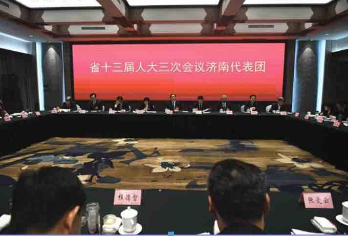 """济南团审议政府工作报告,济南市委书记王忠林6个字总结""""济南之变"""""""