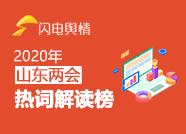2020山东两会热词解读榜第三期:鲁南经济圈等受关注