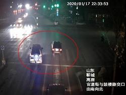 59秒|高唐一越野车因小事恶意别车、撞击陌生车辆,驾驶员危险驾驶被刑拘
