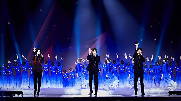 2020山东春晚丨大写的帅!觉醒男团演唱励志歌曲《勋章》 震撼全场