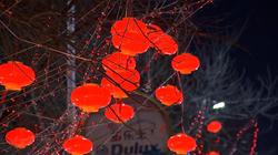 50秒|火树银花不夜天!聊城街头彩灯照亮新春回家路