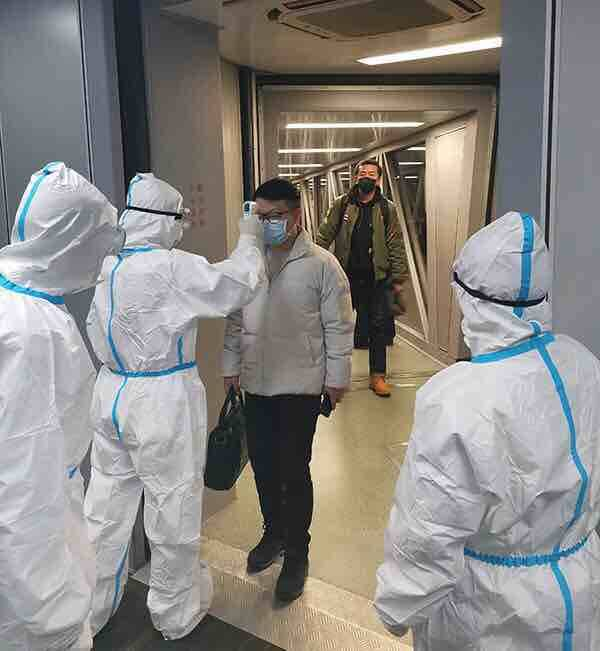 潍坊临朐对全县公共场所实施体温检测