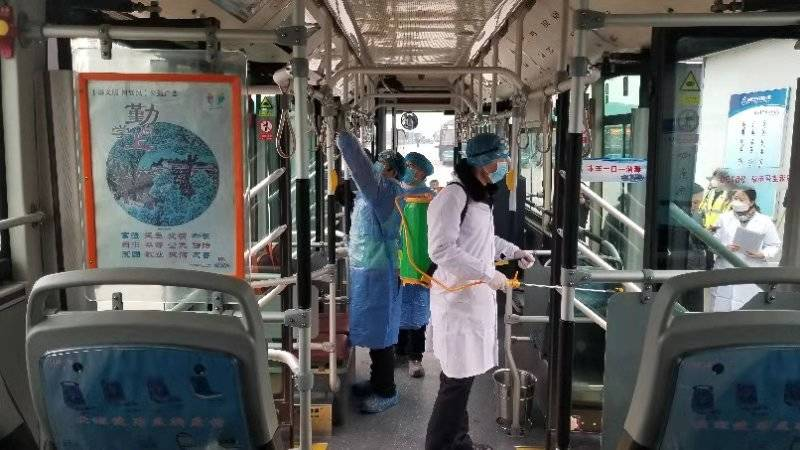全面消毒 正常运行!济南公交全力以赴加强疫情防控
