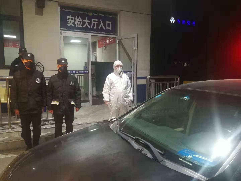 山东启动公安检查站高等级查控 设置留验站对入鲁进京车辆人员进行体温筛查