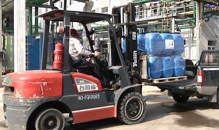 34秒|潍坊诸城:加紧生产消毒物资 保障市场供应