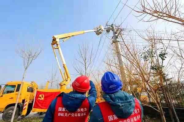 济宁供电全速推进电力工程建设 为公共卫生应急服务提供电力保障