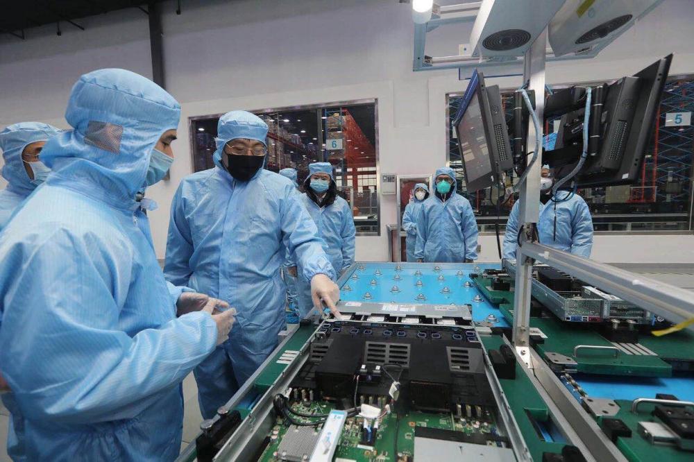 这就是山东丨应防疫之需,浪潮高端装备智能工厂紧急复工