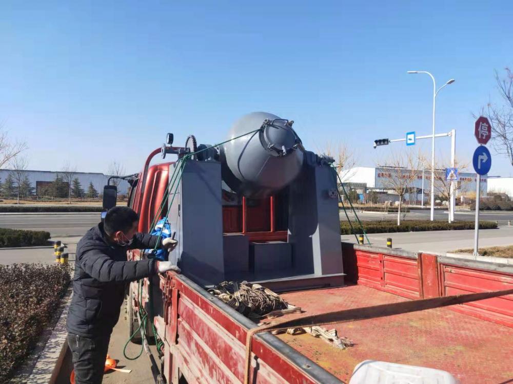 15分钟完成申请、春节期间开工!淄博一企业生产防疫相关设备 驰援送货
