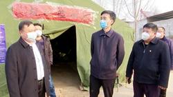冠县县委书记李春田深入一线督导新型冠状病毒感染的肺炎疫情防控工作