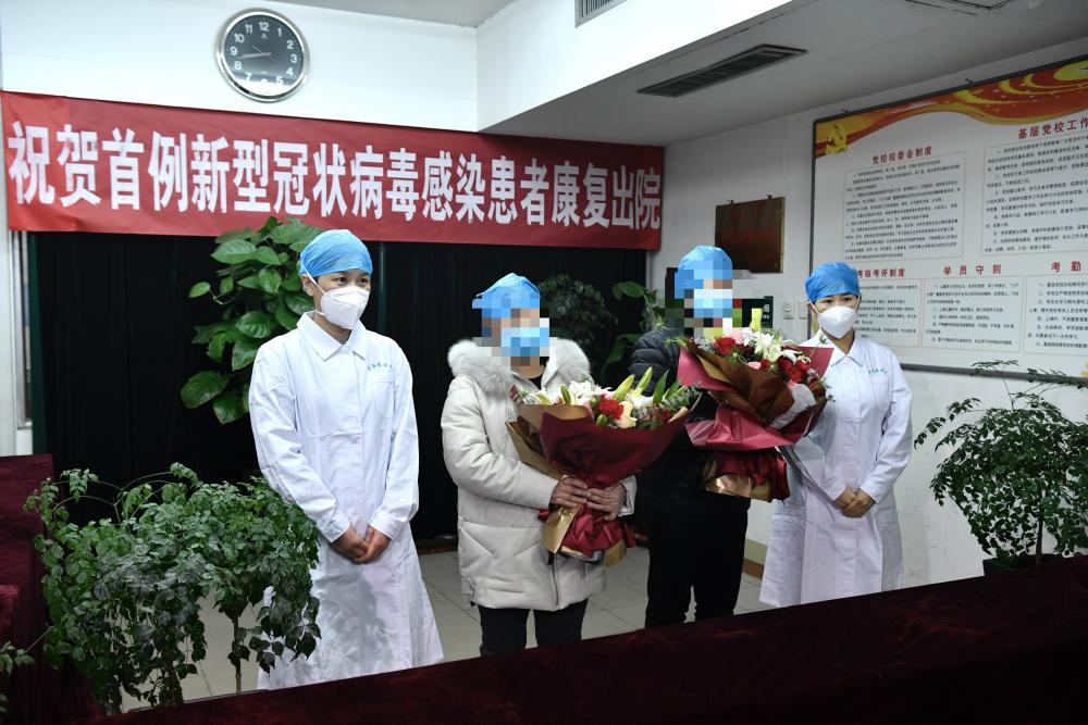 影像力|济南首例新型冠状病毒感染的肺炎患者治愈出院