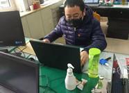 """潍坊临朐:防控一线""""夫妻档"""" 不同的岗位 一样的坚守"""