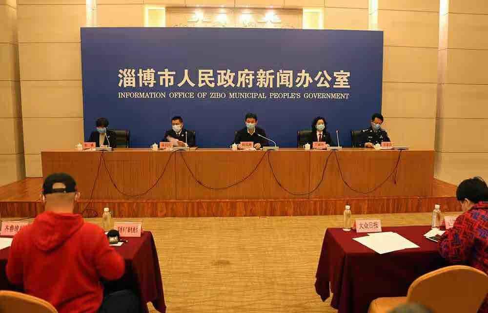淄博6467人参与疫情防控网格员 织牢疫情防控网