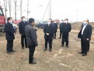 潍坊市副市长马清民到寿光查看水利工程开工复工及防疫工作情况