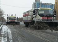滨州600余名环卫工人除雪铲冰保畅通 助力疫情防控工作开展
