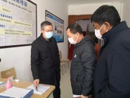 寿光市委副书记、市长赵绪春调度水利工程返寿复工人员集中隔离情况