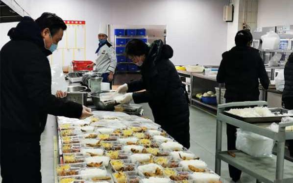 青岛西海岸新区56家餐饮企业联手搭建配餐平台力助企业复工