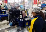 """推广网上点单、启用超市""""隔离屏"""" 潍坊奎文区这样保障居民菜篮子"""