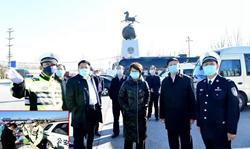 聊城代市长李长萍督导检查疫情防控工作 看望慰问一线公安民警