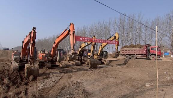 潍坊寿光:战疫情保工期 加快推进水利工程建设
