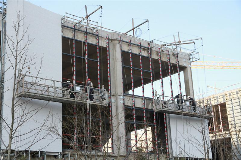 防疫复工两不误 青岛灵山湾影视文化区首批20个重点在建项目复工