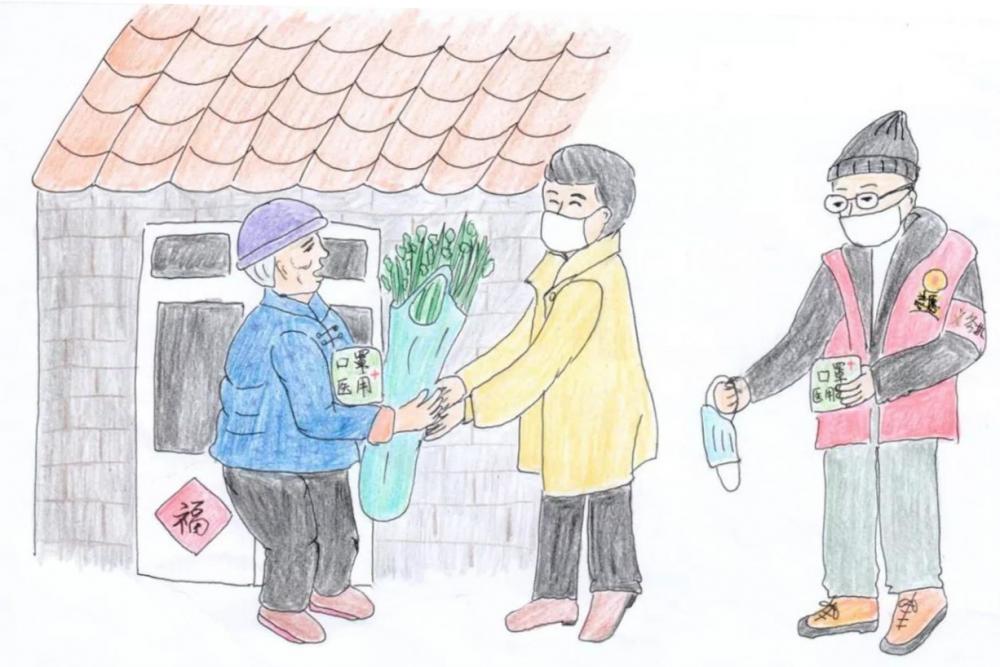 """闪电漫评丨手绘漫画战""""疫""""人的一天:是妈妈更是战""""疫""""工作者"""