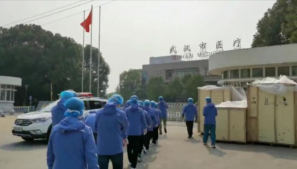 """加油!山东医疗队15名""""尖刀班""""队员赴武汉金银潭医院支援"""