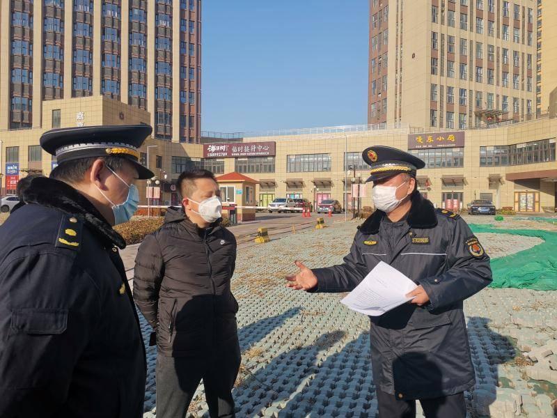 青岛城市管理靠前服务科学指导 规范企业复工复产