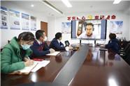 """潍坊高新区创新方式招商洽谈 积极跟进保证项目""""不断链"""""""