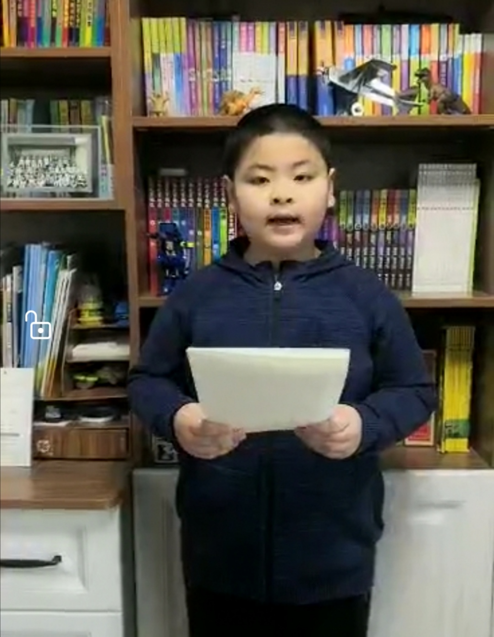 """济南小学生给在黄冈的""""白衣天使""""姑姑写了一封信"""