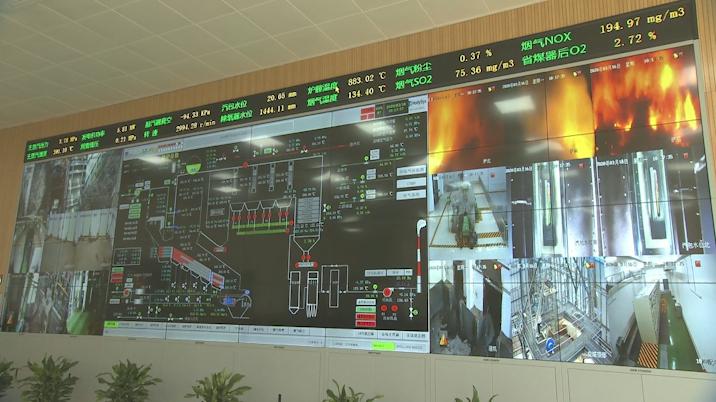 26秒|年处理垃圾20余万吨!聊城冠县一垃圾焚烧发电项目并网发电