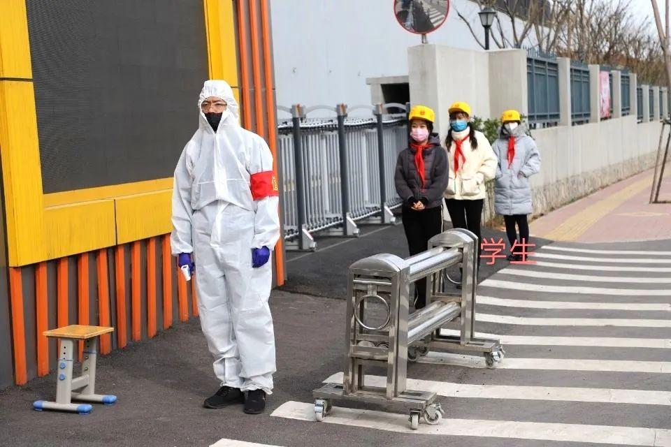 备战开学!济南市市中区学校开展疫情防控演练 保障校园公共卫生安全