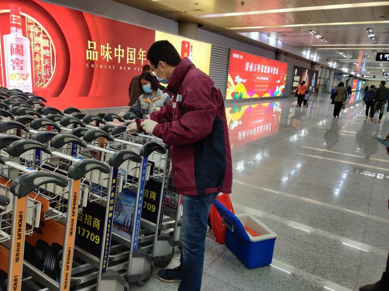 济南机场候机楼卫生环境抽样检测为阴性