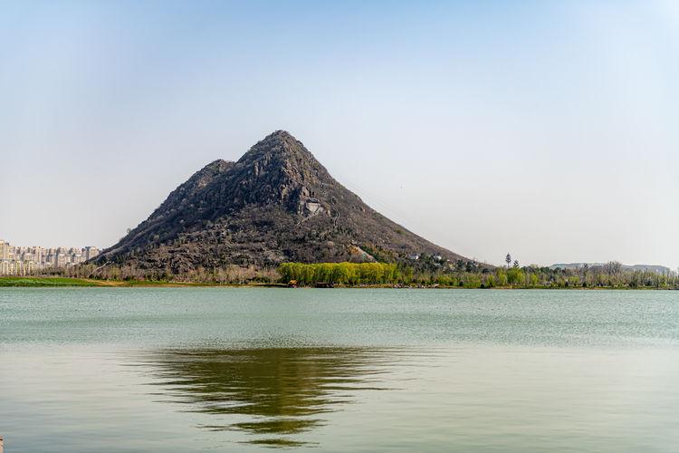 济南华山历史文化湿地公园今日开园
