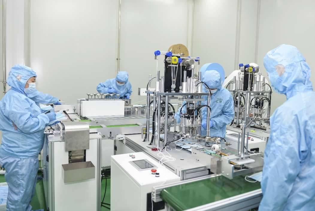潍坊安丘一企业跨界生产民用口罩 日产能20万只