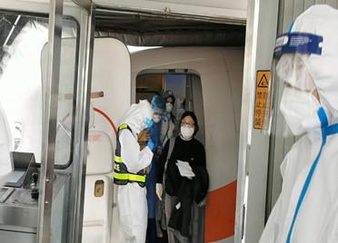 入境前建立多道防线,山东边检妥善处置发热咳嗽旅客595名