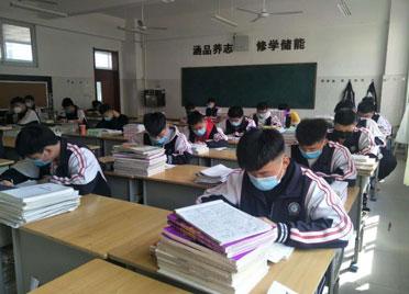 德州临邑开学第一课:防控知识学到手 爱国教育入人心