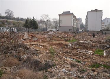 解决10年的动迁难题!威海文登文台片区5栋民房完成拆除 拆迁工作全部完成