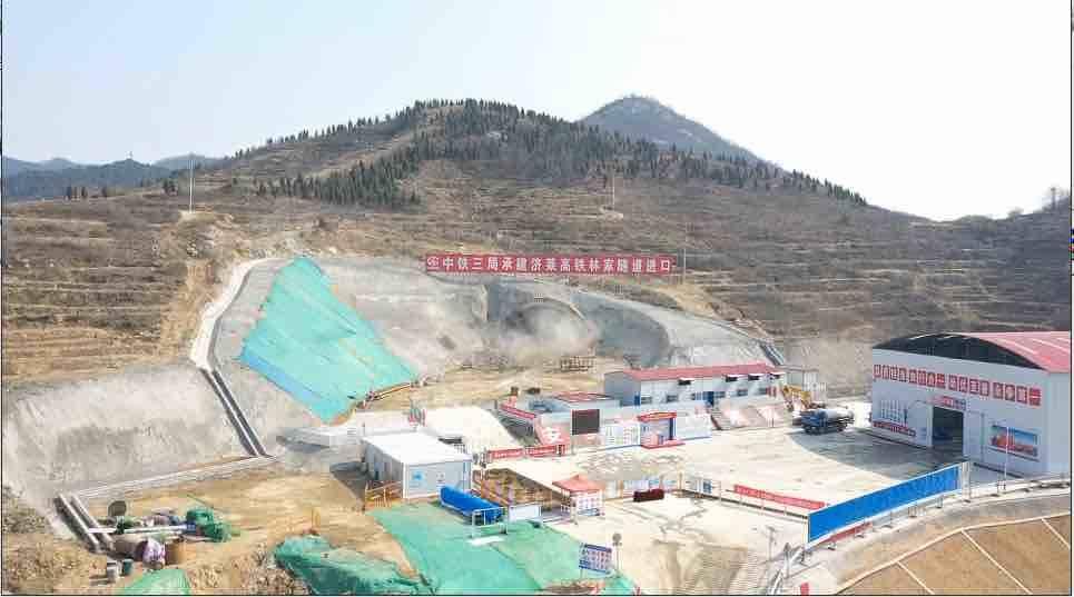 济莱高铁济南东站至港沟站冻结 项目建设加速进行中