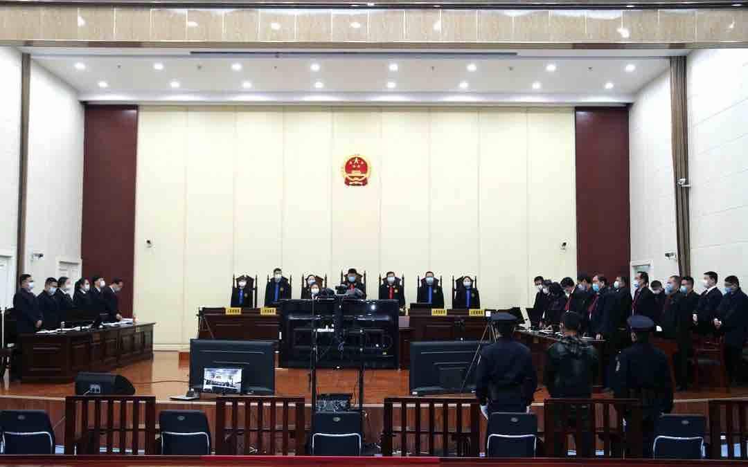 淄川法院对聂勇等24人黑社会性质组织犯罪案一审宣判