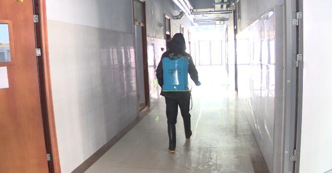 29秒丨日照五莲县疾控中心:筑牢防控防线 保障校园安全