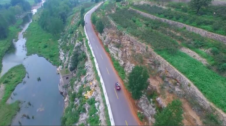 37秒|投资一个多亿改造提升120公里农村公路,枣庄山亭架起乡村振兴致富桥