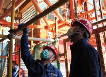 威海荣成好运角开展建筑工程专项检查 防范安全生产事故发生