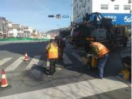 因污水管道施工 5月3日至7日乳山部分道路实行半封闭