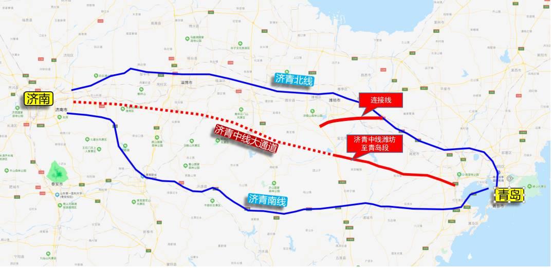 山东高速集团投资建设的济青中线潍坊至青岛段获得立项批复