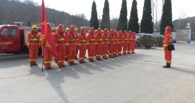 29秒丨五莲县应急管理局: 完成百人应急救援队伍建设,强化应急救援技能培训