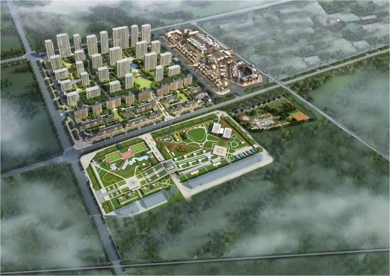 """曲阜第一个""""数字小镇""""即将开建 总投资26亿元"""